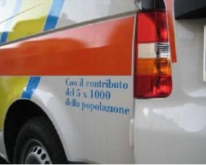 Un particolare della nostra ambulanza